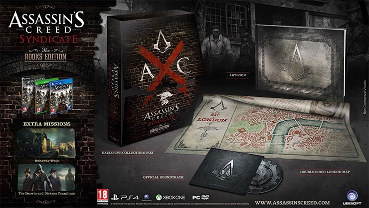 Assassins Creed Syndicate Rooks Edition (XBOXONE)