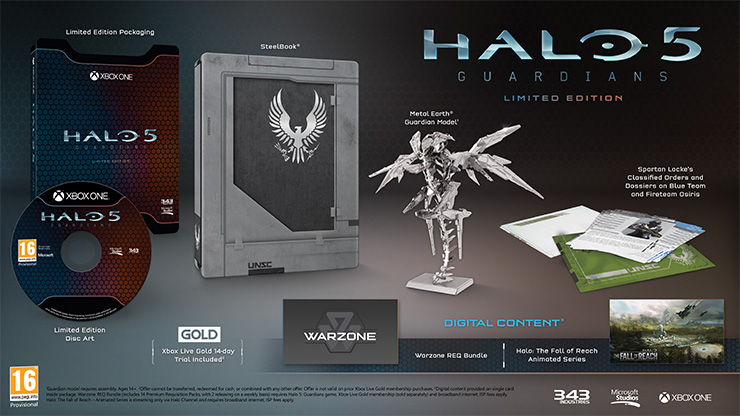 Halo 5 Guardians-Limited Edition