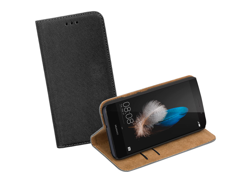 Sentio Book Cover P8 Lite Black