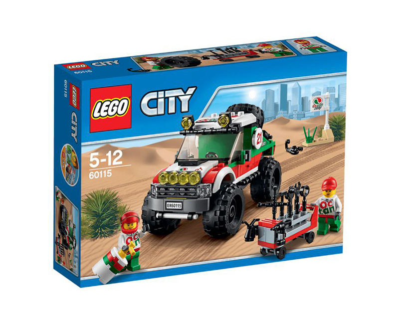 60115 4 X 4 Off Roader Lego