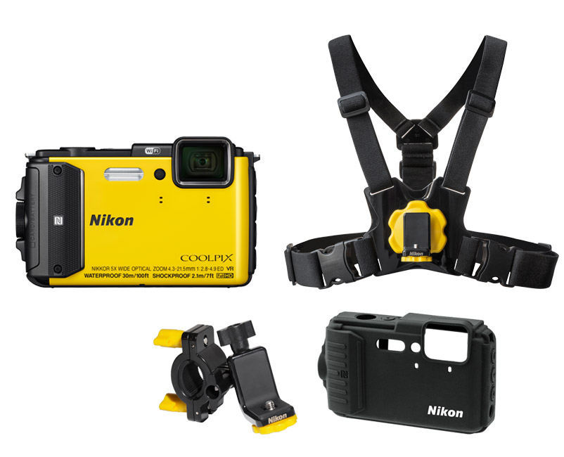 Nikon AW130 Outdoor Kit Κίτρινο