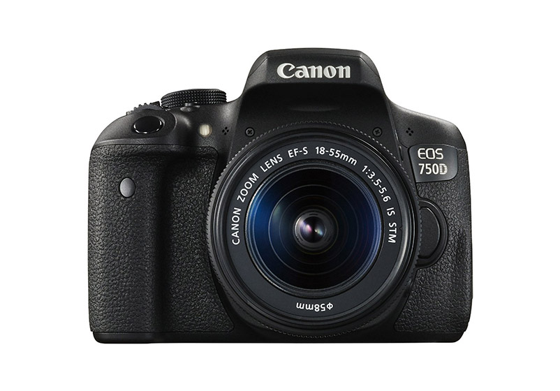 Digital Camera Canon EOS-750D 18-55 IS cashback