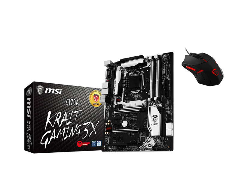 Motherboard MSI Z170A Krait Gaming 3X 1151 Z170 DDR4