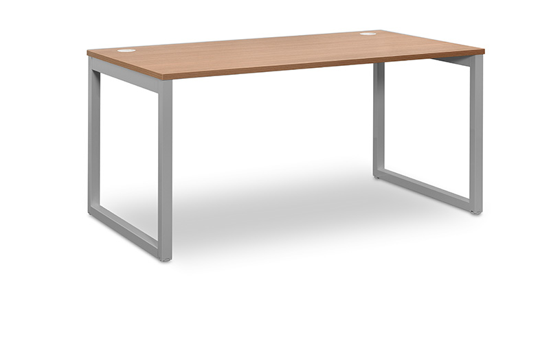 Desk 140Χ80 Industrial Walnut grey legs