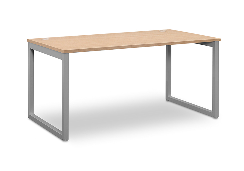 Desk Industrial Oak 140x80 grey legs