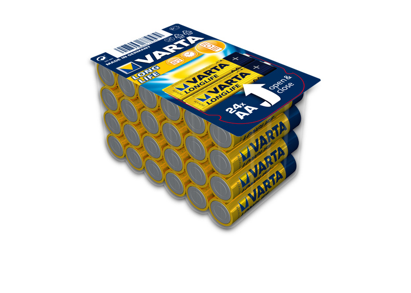 Varta Batteries Longlife AA 24