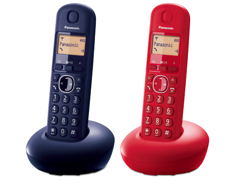 Wireless phone Panasonic KX TGB210 Blue Yellow
