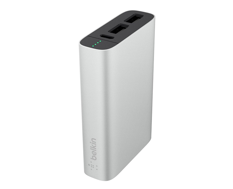 Powerbank 6600mAh 2 slots Belkin Gold 3.4A