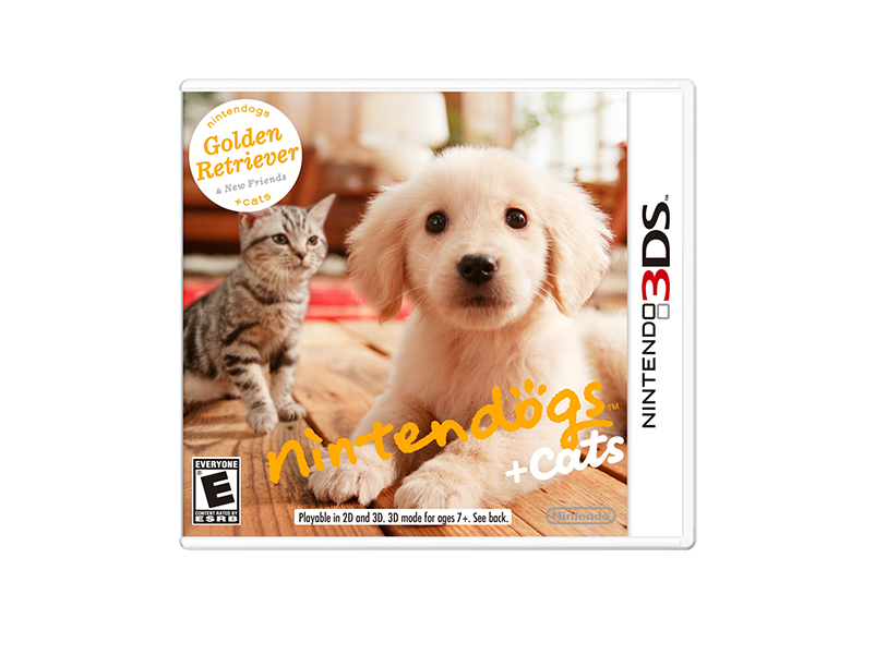 Nintendogs Retriever Friends 3DS