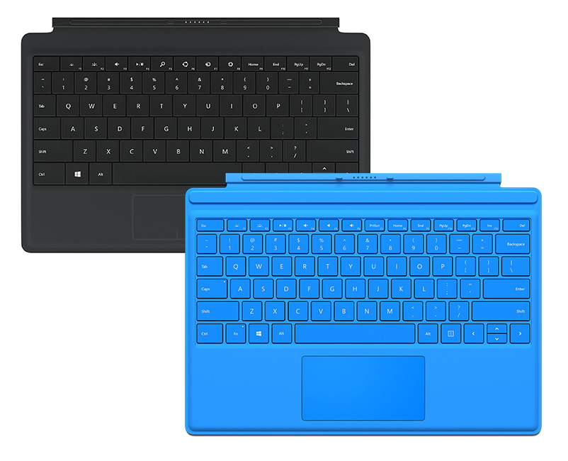 Microsoft keyboard Surface 4 Black Blue