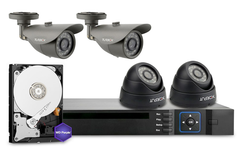 Turbo-X DVR Kit AHD-8122HD