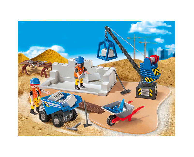playmobil superset worksite