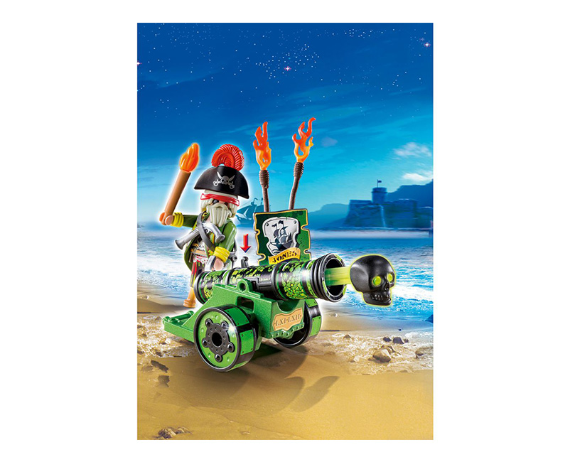 playmobil green cannon
