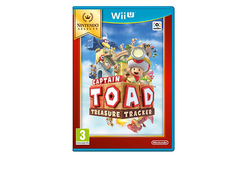 Captain Toad Treasur Tracker Selects