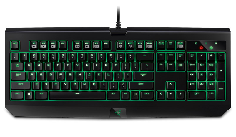 Razer black window