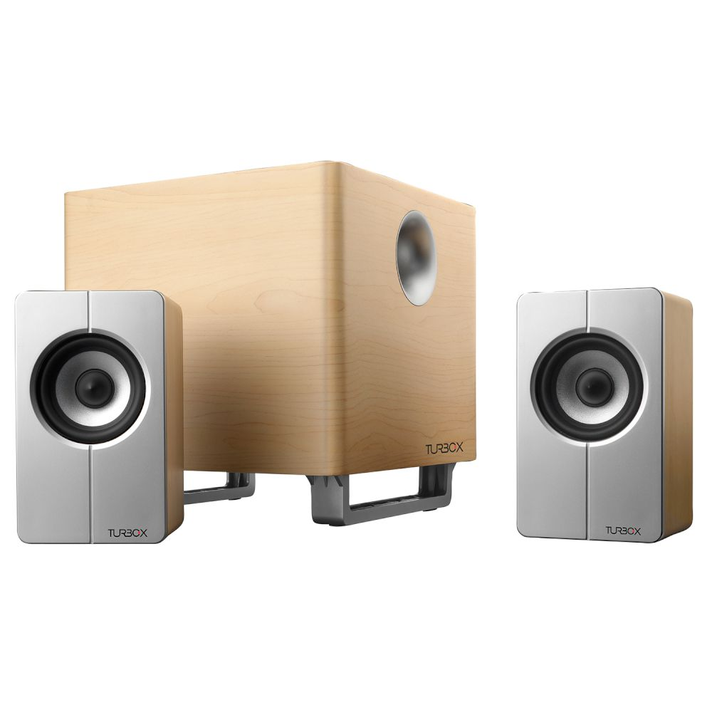 Speakers 2.1 Turbo-X Lignea