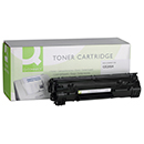 Q-Connect Toner Q-Connect Συμβατό CE285A Black 1673718