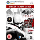 Warner Warner Batman Arkham City GOTY PC 1821431