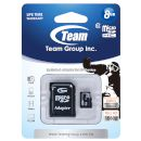 TeamGroup TeamGroup microSDHC Κάρτα Μνήμης 8 GB Class 10 με SD adapter 2228947_1