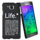 Sentio Θήκη Sentio Back Cover για Galaxy Alpha Life 2236567