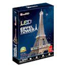 "CubicFun 3D Puzzle ""Eiffel Tower"" (Led) 82 τμχ 2596997"