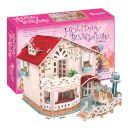 "CubicFun 3D Puzzle ""Holiday Bungalow Dollhouse"" (Led) 114 τμχ 2597004_1"