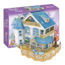 "CubicFun 3D Puzzle ""Rural Villa Dollhouse"" (Led) 132 τμχ 2597128_1"