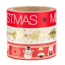 Sentio Σετ Washi Tape Merry Christmas 3τμχ 2747278