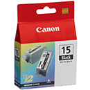 Canon Μελάνι Canon BCI-15 Black Dual pack 550035