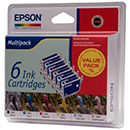 Epson Μελάνι Epson T0487 (BK-C-M-Y-LM-LC) Multipack 795410