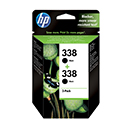 HP Μελάνι HP 338 Black Dual pack 890928
