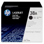 Toner HP 38A Black Dual pack