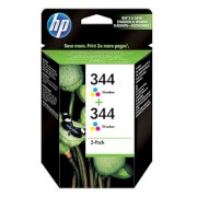 Μελάνι HP 344 Colour Dual pack