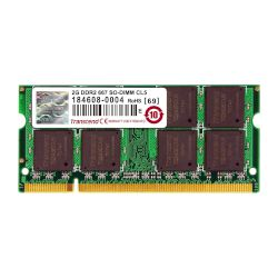 Transcend Laptop RAM Value 2GB 667MHz DDR2