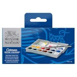 Winsor & Newton Sketchers' Pocket Box Ακουαρέλα Cotman