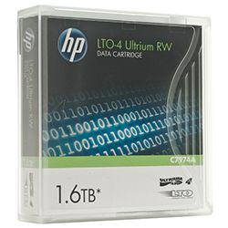 HP Data Cartridge LTO-4-RW 800/1600GB C7974A