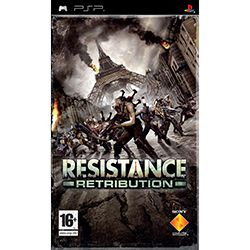 Sony Resistance Retribution PSP