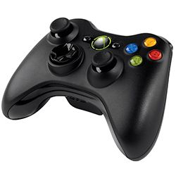 Microsoft XBOX360 Wireless Controller Black