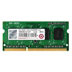 Transcend Laptop RAM Value 2GB 1333MHz DDR3
