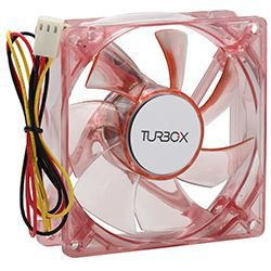 Turbo-X FAN 80mm Red