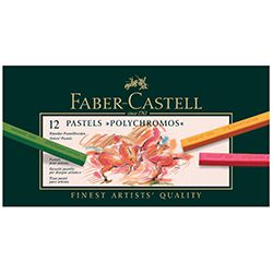 Faber Castell Παστέλ Soft Polychromos 12τεμ.