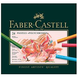 Faber Castell Παστέλ Soft Polychromos 24τεμ.