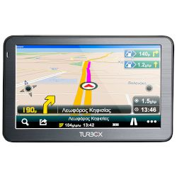 Turbo-X GPS Route 50 Bluetooth Dont Panic 5,0 (Ελλάδα & Ευρώπη)