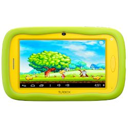 "Turbo-X Smarty Τablet 7"" WiFi Yellow-Green"