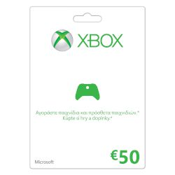 Microsoft Game cards Xbox LIVE 50 Euro