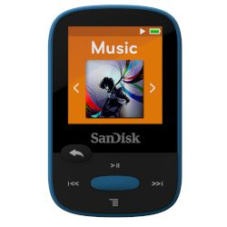 SanDisk MP3 Sansa Clip Sport 8 GB Μπλε