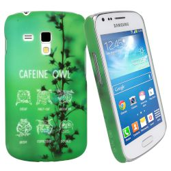 Θήκη Sentio Back Cover για Galaxy Trend Plus Cafeine Owl