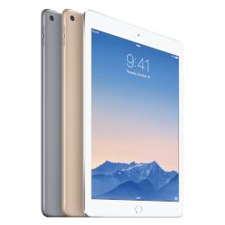 "Apple iPad Air 2 64GB Silver Tablet 9.7"" WiFi"
