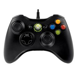 Microsoft Xbox 360 Wired Controller for Windows Black