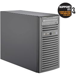 Turbo-X Flexwork Foundation 4170-4-1 Server (Core i3 4170/4 GB/2x500GB HDD/BMC AST2400)